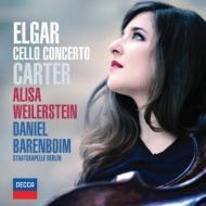 エルガー:チェロ協奏曲、カーター:チェロ協奏曲、ブルッフ:コル・ニドライ ワイラースタイン、バレンボイム&シュターツカペレ・ベルリン