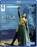 『アッティラ』全曲 マエストリーニ演出、バッティストーニ&パルマ・レッジョ劇場、パローディ、デ・ビアージョ、他(2010 ステレオ)(日本語字幕付)