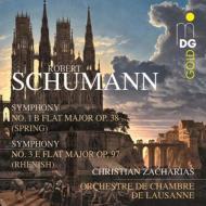 交響曲第1番『春』、第3番『ライン』 ツァハリアス&ローザンヌ室内管弦楽団