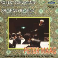ブラームス:交響曲第1番、シューマン:交響曲第4番 マーク&東京都交響楽団(1995)