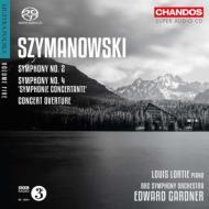 交響曲第4番『協奏交響曲』、第2番、演奏会用序曲 ロルティ、ガードナー&BBC響