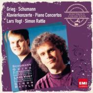 シューマン:ピアノ協奏曲、グリーグ:ピアノ協奏曲 フォークト、ラトル&バーミンガム市交響楽団