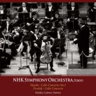 ドヴォルザーク:チェロ協奏曲(スイトナー指揮 1988)、ハイドン:チェロ協奏曲第1番(ライトナー指揮 1986) マイスキー、NHK響