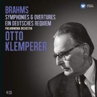 交響曲全集、ドイツ・レクィエム クレンペラー(4CD)