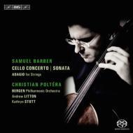 チェロ協奏曲、チェロ・ソナタ、弦楽のためのアダージョ ポルテラ、リットン&ベルゲン・フィル、ストット