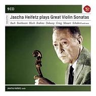 ハイフェッツ/ヴァイオリン・ソナタ集(9CD)
