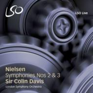 交響曲第2番『四つの気質』、第3番『ひろがりの交響曲』 C.デイヴィス&ロンドン交響楽団