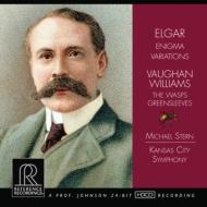 エルガー:エニグマ変奏曲、ヴォーン・ウィリアムズ:グリーンスリーヴズ幻想曲、『すずめばち』組曲 M.スターン&カンザスシティ響