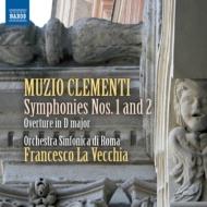 交響曲第1番、第2番、序曲ニ長調 ラ・ヴェッキア&ローマ交響楽団