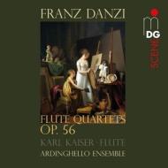 フルート四重奏曲集作品56 アルディンゲロ・アンサンブル