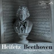 ヴァイオリン・ソナタ第8番、第10番:ヤッシャ・ハイフェッツ(ヴァイオリン)、エマニュエル・ベイ(ピアノ) (高音質盤/180グラム重量盤レコード/Impex)