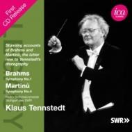 ブラームス:交響曲第1番、マルチヌー:交響曲第4番 テンシュテット&シュトゥットガルト放送交響楽団