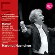 交響曲第1番『巨人』、第8番『千人の交響曲』 ヘンヒェン&オランダ・フィル(1999、2002)(2CD)
