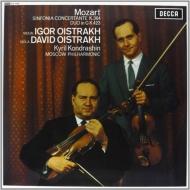 ヴァイオリンとヴィオラのための協奏交響曲:D&I オイストラフ、コンドラシン指揮&モスクワ・フィルハーモニー管弦楽団 (180グラム重量盤レコード/Speakers Corner)
