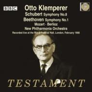 シューベルト:交響曲第8番『未完成』、ベートーヴェン:交響曲第1番、他 クレンペラー&ニュー・フィルハーモニア管(1968)(2CD)