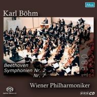 交響曲第2番、第7番 ベーム&ウィーン・フィル(1980年 東京ライヴ)(シングルレイヤー)