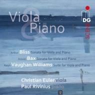 ブリス:ヴィオラ・ソナタ、ヴォーン・ウィリアムズ:ヴィオラ組曲、バックス:ヴィオラ・ソナタ オイラー、リフィニウス