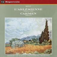 『アルルの女』組曲、『カルメン』組曲 カラヤン&フィルハーモニア管弦楽団 (180グラム重量盤レコード/Hi-Q Records Supercuts)