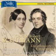 シューマン:ピアノ協奏曲、クララ・シューマン:ピアノ協奏曲、他 パニー、ヴィラレ&スイス・イタリア語放送管