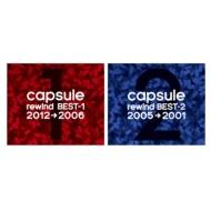 【同時購入特典:capsule 『rewind BEST』 告知スペシャルDVD付】rewind BEST-1 (2012→2006)/rewind BEST-2 (2005→2001)