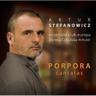 Cantatas: Stefanowicz(Ct)Ensemble Club Europa