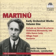 Early Orch Works Vol.1: I.hobson / Sinfonia Varsovia