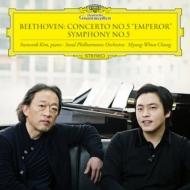 交響曲第5番『運命』、ピアノ協奏曲第5番『皇帝』 チョン・ミョンフン&ソウル・フィル、キム・ソヌク