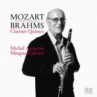 モーツァルト:クラリネット五重奏曲、ブラームス:クラリネット五重奏曲 アリニョン、モルゴーア・クァルテット