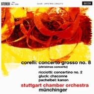 合奏協奏曲第8番(コレッリ)、カノン(パッヘルベル)、他:カール・ミュンヒンガー指揮&シュトゥットガルト室内管弦楽団 (180グラム重量盤レコード/Speakers Corner)
