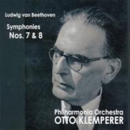 交響曲第7番、第8番 クレンペラー&フィルハーモニア管弦楽団(1960、57)(平林直哉復刻)