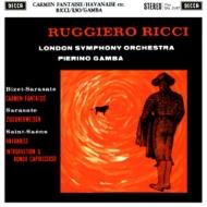 カルメン幻想曲(サラサーテ))、他:ルッジェーロ・リッチ(ヴァイオリン)、ピエロ・ガンバ指揮&ロンドン交響楽団 (180グラム重量盤レコード/Speakers Corner)