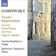 ヴァイオリンとピアノのための作品集 ラシドヴァ、チャドウィック