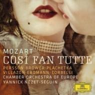『コジ・ファン・トゥッテ』全曲 ネゼ=セガン&ヨーロッパ室内管、パーション、ヴィラゾン、エルトマン、他(2012 ステレオ)(3CD)