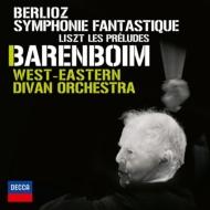 ベルリオーズ:幻想交響曲、リスト:前奏曲 バレンボイム&ウェスト=イースタン・ディヴァン・オーケストラ