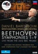 交響曲全集 バレンボイム&ウェスト=イースタン・ディヴァン・オーケストラ(ロンドン・ライヴ2012)(4DVD)