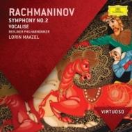 交響曲第2番、ヴォカリーズ、『アレコ』間奏曲 マゼール&ベルリン・フィル
