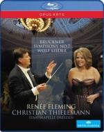 ブルックナー:交響曲第7番、ヴォルフ:歌曲集 ティーレマン&シュターツカペレ・ドレスデン、フレミング