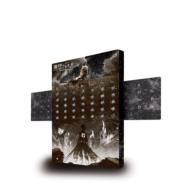 進撃の巨人 超大型巨人が覗く万年メタルカレンダー[ローソン・HMV限定]