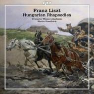 ハンガリー狂詩曲第1番〜第6番 ハーゼルベック&ウィーン・アカデミー管弦楽団