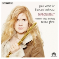 Great Works for Flute & Orchestra : Bezaly(Fl)Jarvi / Haag Residentie Orchestra (Hybrid)