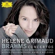 ピアノ協奏曲第1番、第2番 グリモー、ネルソンス&バイエルン放送響、ウィーン・フィル(2CD)