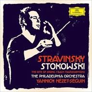ストラヴィンスキー:『春の祭典』、ストコフスキー編曲バッハ作品集 ネゼ=セガン&フィラデルフィア管弦楽団