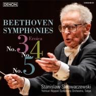 交響曲第3番『英雄』、第4番、第5番『運命』 スクロヴァチェフスキ&読売日本交響楽団(2012)(2SACD)