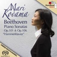 ピアノ・ソナタ第29番『ハンマークラヴィーア』、第28番 児玉麻里
