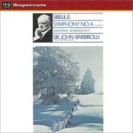 交響曲第4番、組曲『恋人』、ロマンス ジョン・バルビローリ&ハレ管弦楽団 (180グラム重量盤レコード/Hi-Q Records Supercuts)
