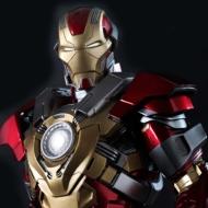 Movie Masterpiece 1/6 スケールフィギュア アイアンマン3 アイアンマン・マーク17(ハートブレイカー)