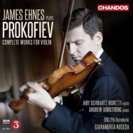 ヴァイオリン協奏曲第1番、第2番、ヴァイオリン・ソナタ第1番、第2番、無伴奏ソナタ、他 エーネス、ノセダ&BBCフィル、A.アームストロング、他(2CD)