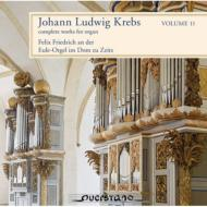 クレープス、 ヨハン・ルートヴィヒ(1713-80)/Complete Organ Works Vol.11: F.friedrich(Org)