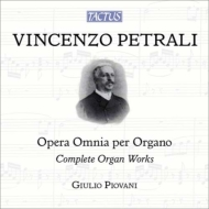 ペトラーリ(1830-1889)/Comp. organ Works: Piovani (+pal-dvd)