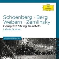 新ウィーン楽派等弦楽四重奏曲集 ラサール四重奏団(6CD)